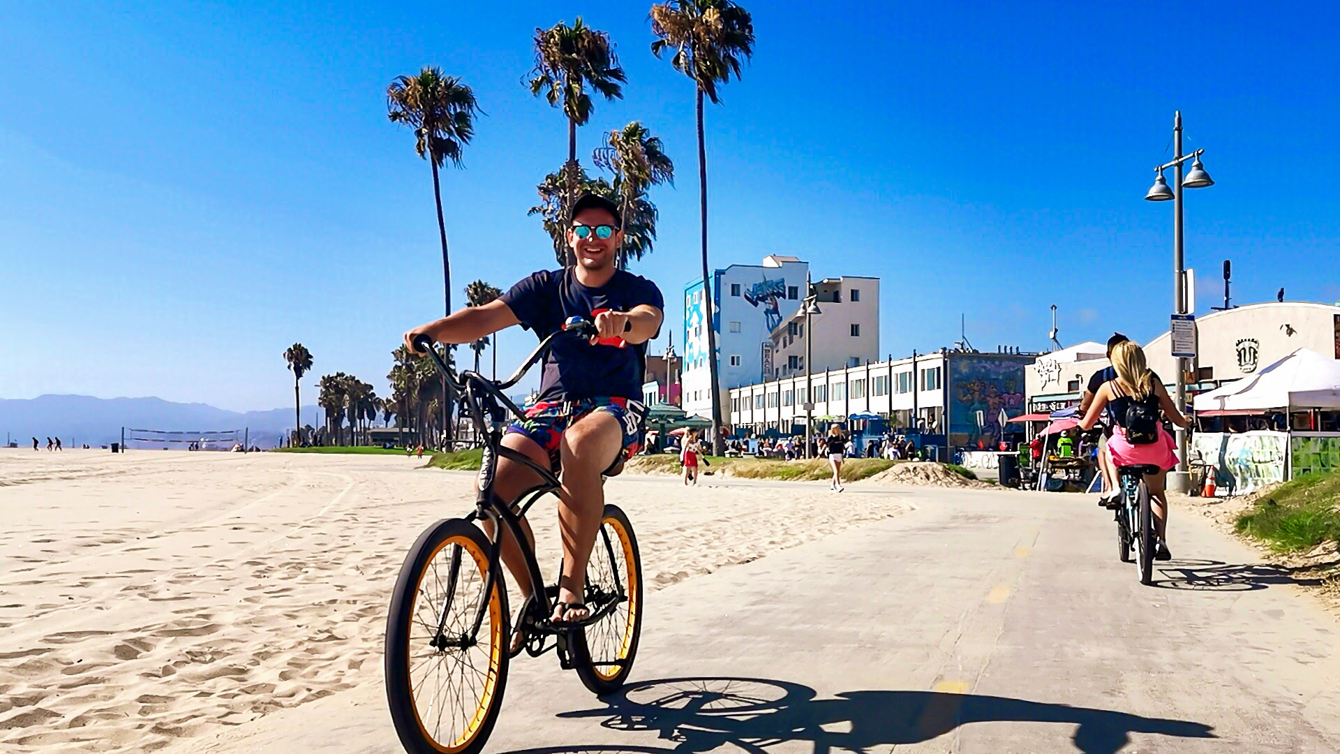 Venice Beach is a famous beach in Los Angeles, California, and you should not miss this lovely place.